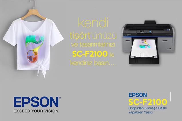 EPSON SURECOLOR SC-F2100 (5C) T-SHIRT PRINTER | metrosepet net
